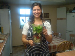 Cranleigh House green smoothie