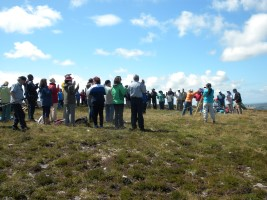 praying on Holdstone Down